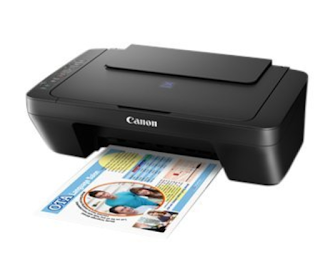 is established to render yous a terms effective cordless printing sense with economical Canon PIXMA E474 Driver Download