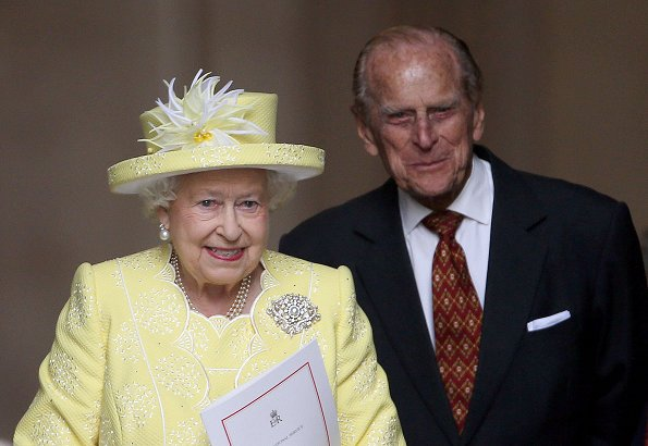 Queen Elizabeth's husband, Prince Philip, has been admitted to the hospital
