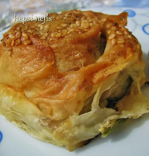 Kıymalı Patatesli Börek