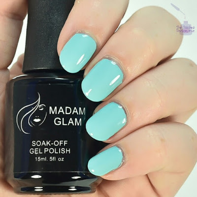 madam glam hint of blue swatch
