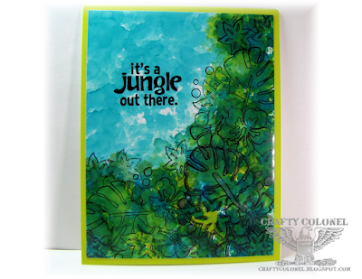Crafty Colonel Donna Nuce for Club Scrap Paradise Blog Hop, Card