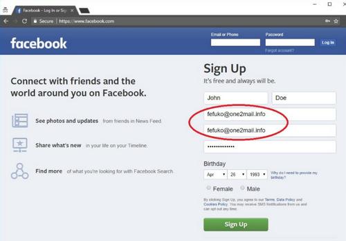 Cara Membuat Akun Facebook Tanpa Email dan Nomor Telpon