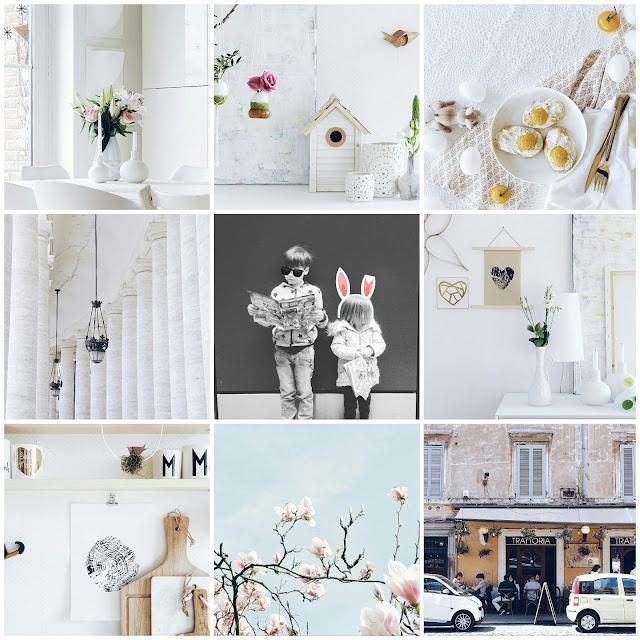 Monatscollage Instagram | Über das Bloggen ohne Nische plus Monatsblick April und Mail | Personal Lifestyle, DIY and Interior Blog | Auf der Mammiladen-Seite des Lebens