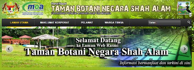 Rasmi - Jawatan Kosong (TBNSA) Taman Botani Negara Shah Alam Terkini 2019
