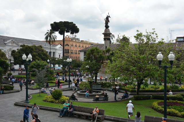 Main Square Quito park