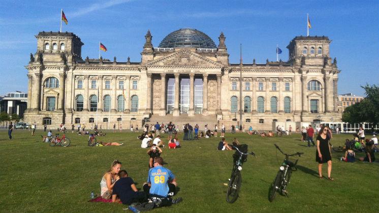 Conocer el Bundestag y subir a su cupula