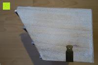 Seite: Eurosell Holz Schreibtischorganizer Brief Post Ablage Briefablage Postablage Briefständer Vintage Retro Design Designer Dokumenten Prospekte Ständer