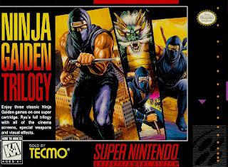 Ninja Gaiden Trilogy (BR) [ SNES ]