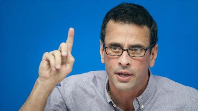 Capriles amenaza: Si no hay revocatorio, habrá estallido social