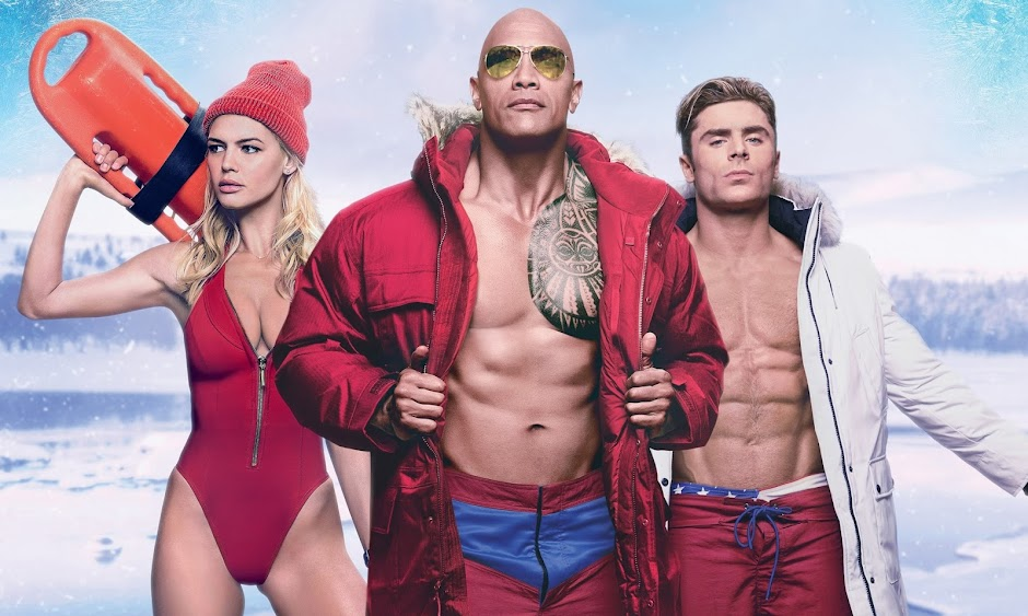 "Mais humor e ação no 3º trailer de ""Baywatch"", com Dwayne Johnson e Zac Efron"
