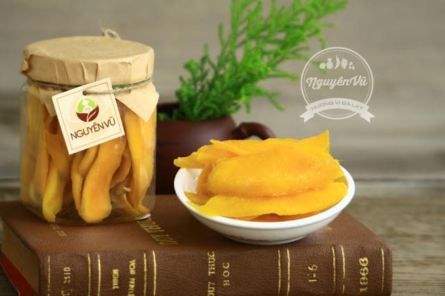 Xoài sấy dẻo Nguyên Vũ, mua hoa quả sấy ở Quận Hoàng Mai