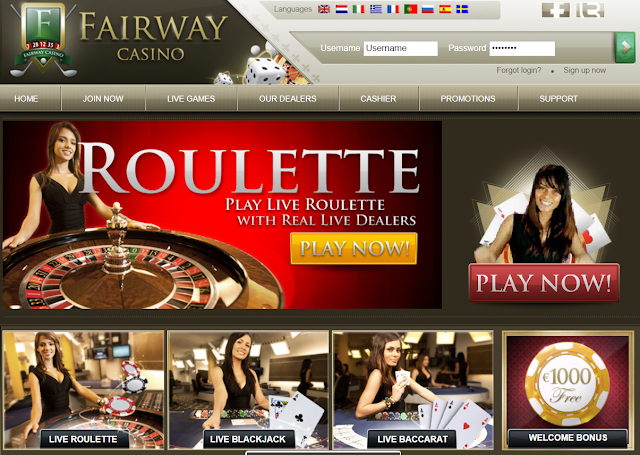 Fairway Casino Live Roulette | Live Dealers