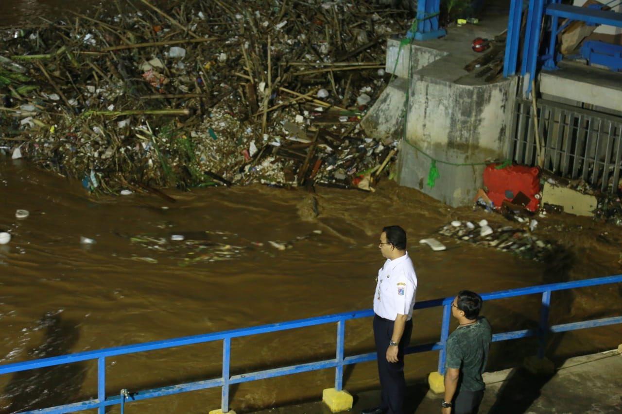 Jurus Dahsyat Anies Tanggulangi Banjir Jakarta