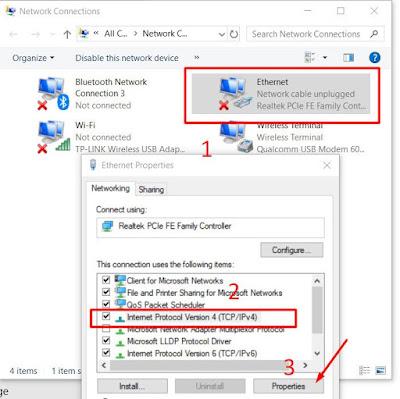 Cara Menghubungkan Komputer Menggunakan Kabel LAN di Windows 10
