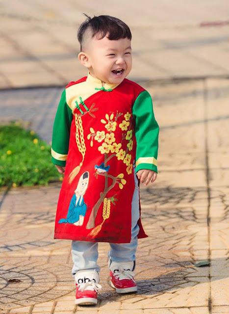 thuê áo dài cho trẻ em