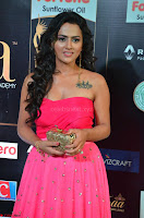 Sraddha in Sleeveless Off Shoulder Pink Dress at IIFA Utsavam Awards March 2017 001.JPG