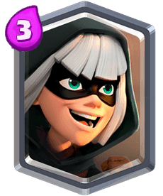 Bandit of Clash Royale