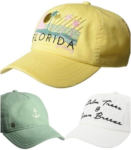 Beach Baseball Caps