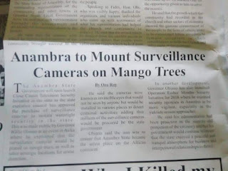 Anambra to launch CCTV cameras in mango trees