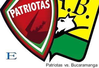 Patriotas sigue cediendo puntos en casa, empató con Bucaramanga