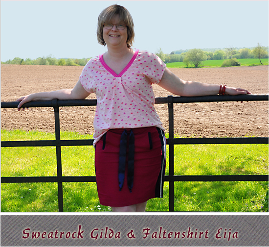 Sweatrock Gilda & Sommershirt Eija by Kibadoo