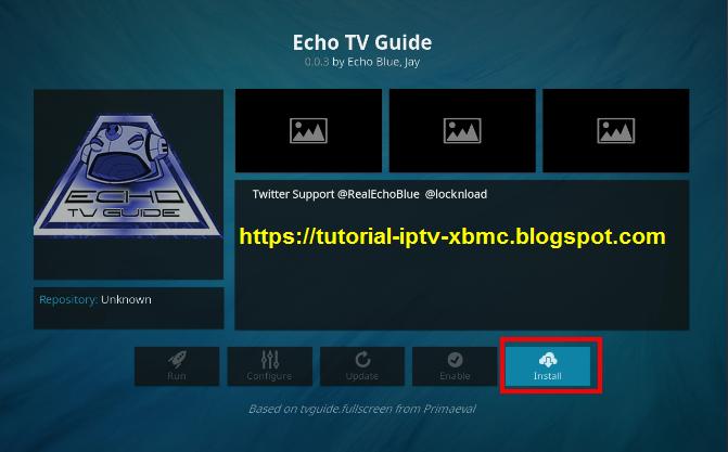 Echo TV Guide Kodi Addon Repo - New Kodi Addons Builds 2019