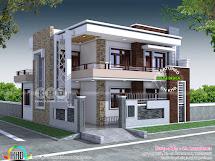 37x42 5 Bedroom Contemporary House Kerala Home Design