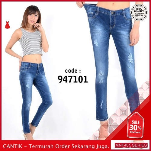 MNF401J156 Jeans 947101 Wanita Panjang Jeans Celana terbaru 2019 BMGShop