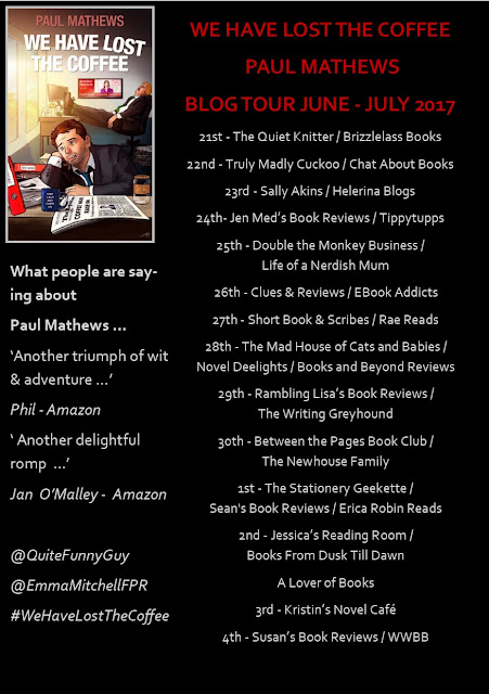 we-have-lost-the-coffee, paul-mathews, blog-tour