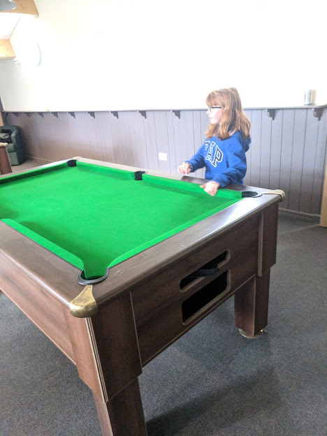 A Review of Darwin Forest & The Peak District with Tweens  - pool tables