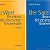 Das Wort  - Grundriss der deutschen Grammatik