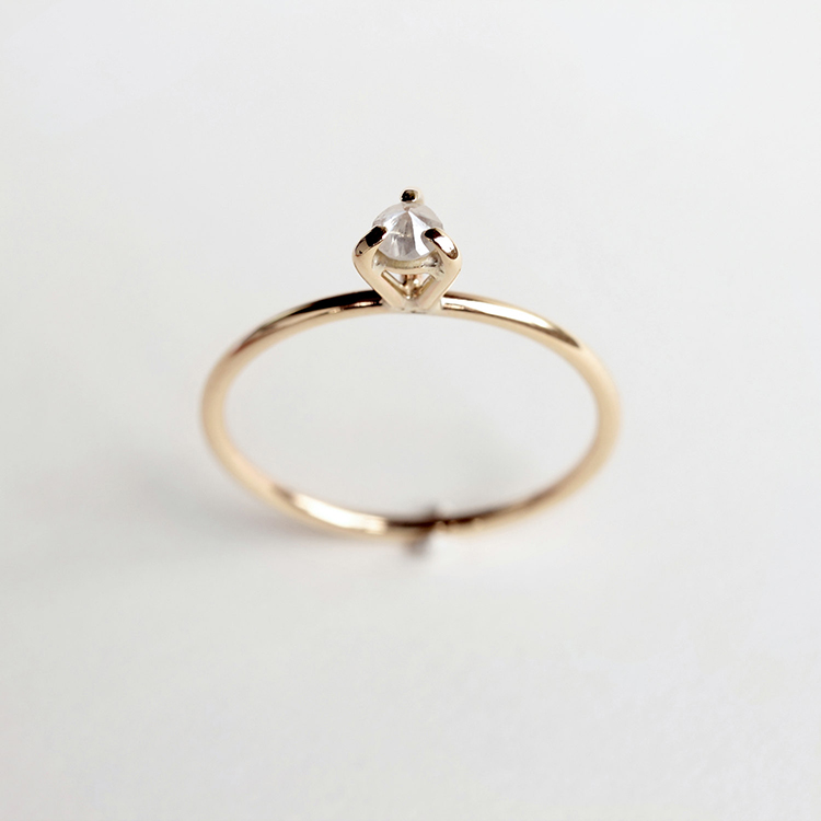 Eye 02 - diamond gold  | MIRTA Jewelry