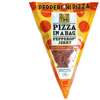 super snack time pizza in a bag