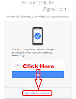 how to recover your gmail password without phone number