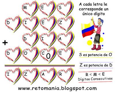 Alfamética, Criptoaritmética, Criptosumas, Juego de Letras