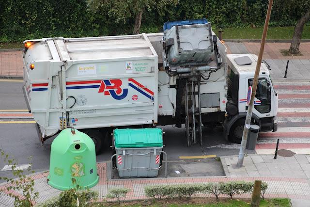 Camión de recogida de basuras