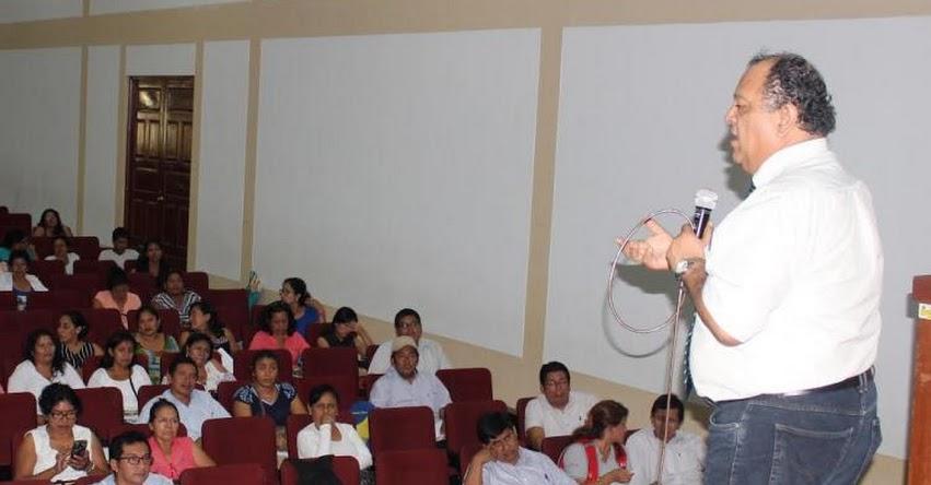 UGEL Chulucanas capacita a directores para el buen inicio del año escolar 2017