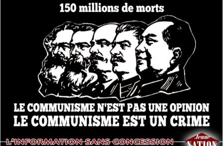 100 ans de crimes communistes !