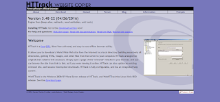 HTTrack is the Best Freeware to Copy or Download all Website Contents