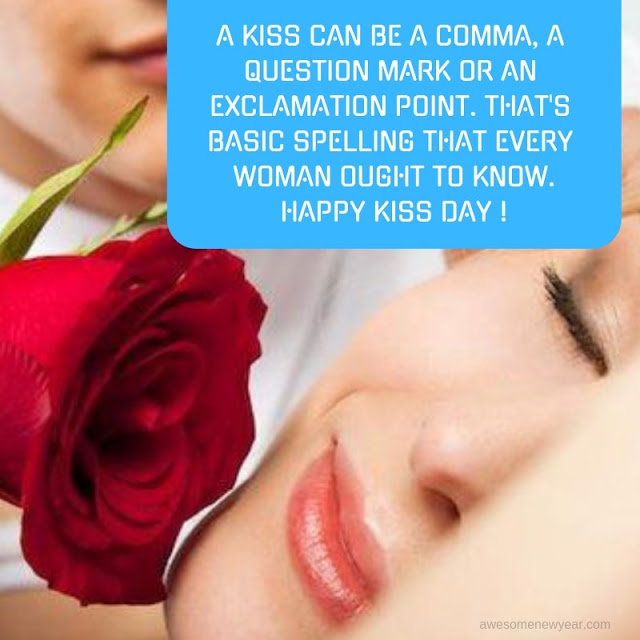 Happy Kiss Day Messages 2019