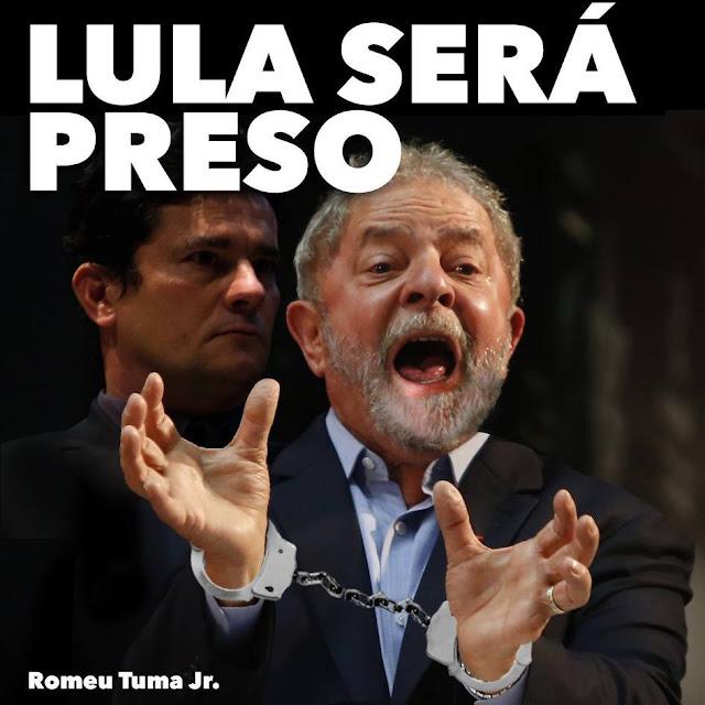 Resultado de imagem para LULA SERÁ PRESO