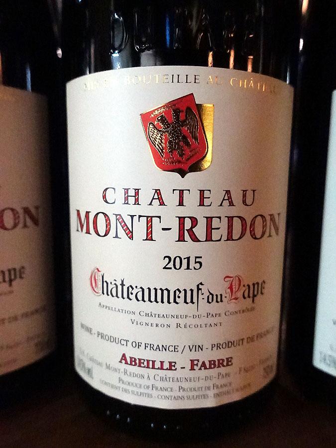 Château Mont-Redon Châteauneuf-du-Pape 2015 (91 pts)