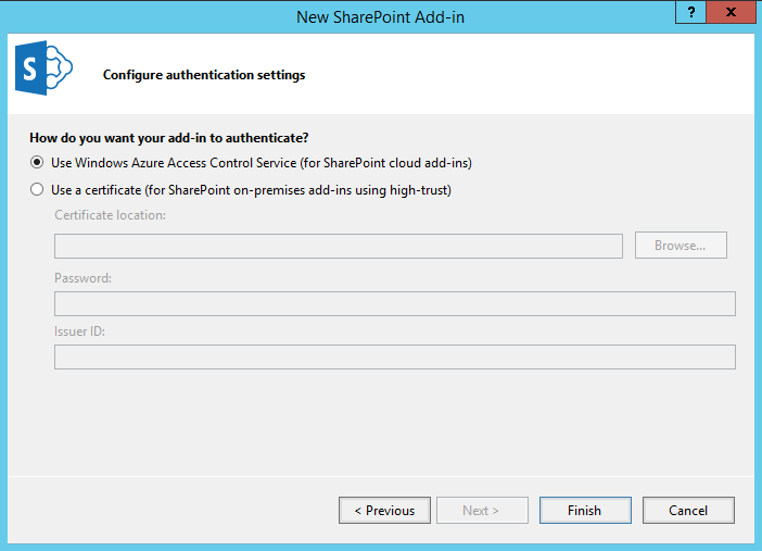 how to create sharepoint office add-ins