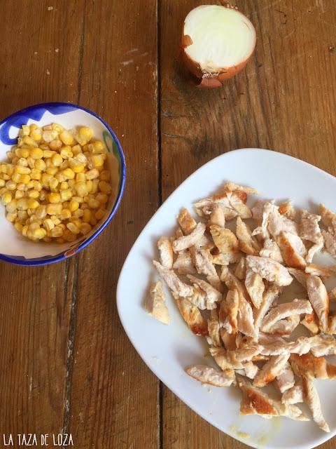 pollo-maíz-cebolla