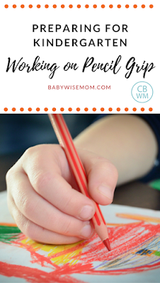 Preparing your child for Kindergarten | Working on pencil grip | penmanship | school prep | #Kindergartenreadiness