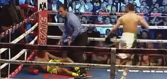 Cesar Juarez BRUTAL Knockout Of Prince Albert Pagara (VIDEO) Pinoy Pride 37