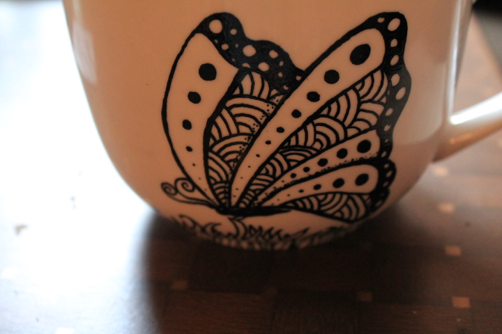Zentangle Handmade Mugs Cups
