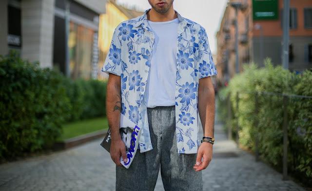outfit uomo camicia apert