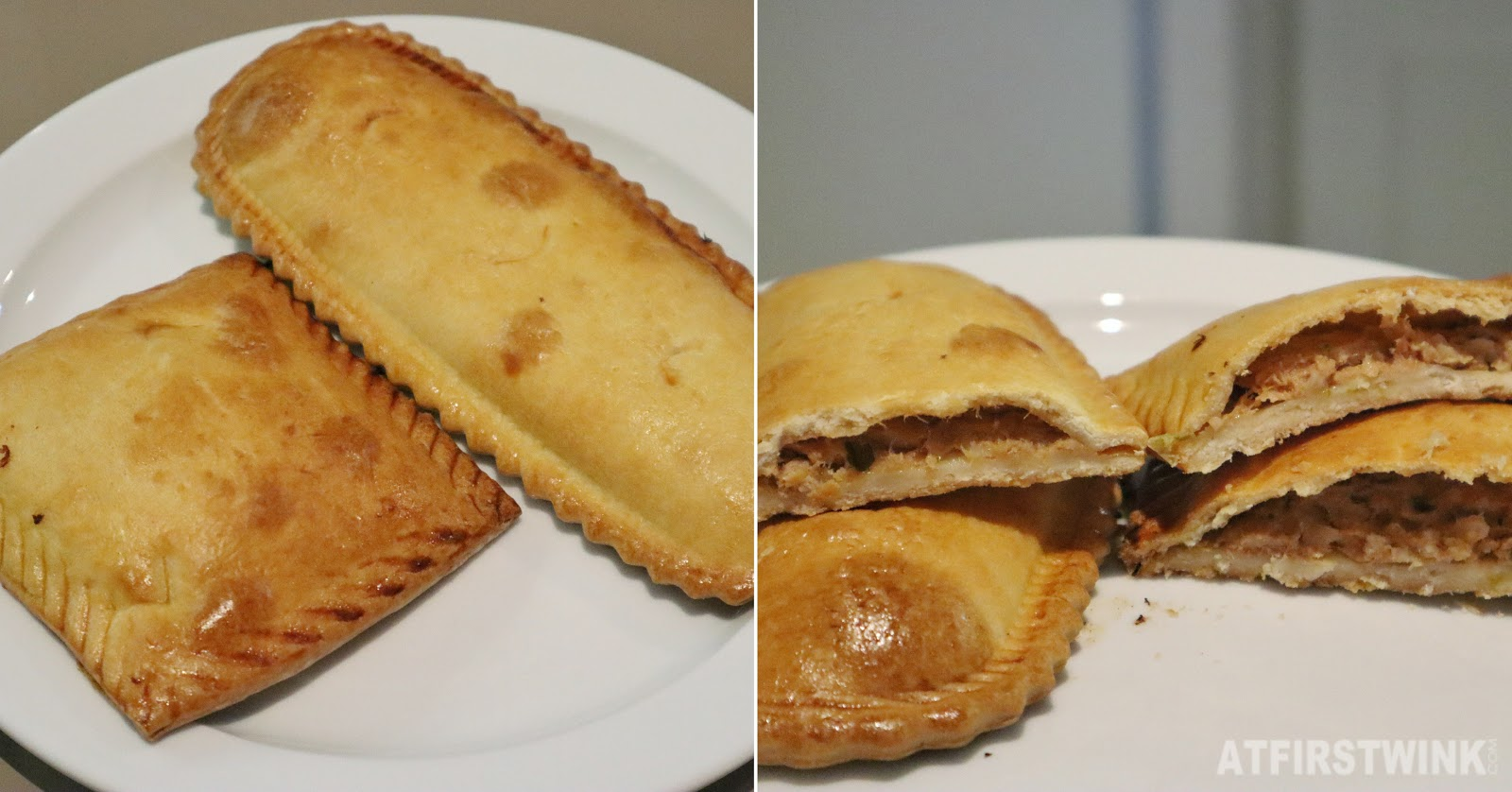 Barcelona savory pastries tuna onion filling mercadona supermarket