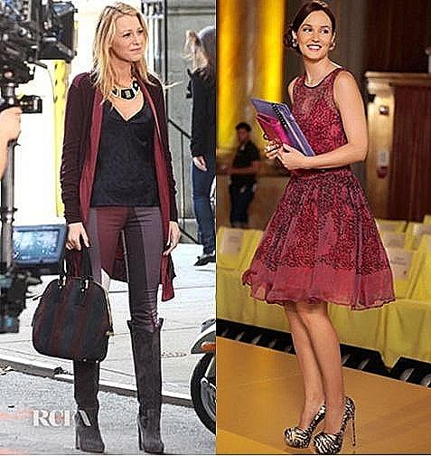 2d273d9ceb63 Les plus beaux looks de Blair (Leighton Meester) et Serena (Blake Lively)  dans saison 6 de Gossip Girl: